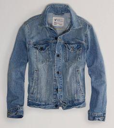 d1e54cd49d Denim jacket from American Eagle Denim Jacket Men