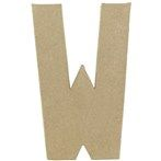 "8"" Paper Mache Letter - M 