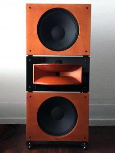 Open Baffle Speakers, Pro Audio Speakers, Audiophile Speakers, Horn Speakers, Diy Speakers, Hifi Audio, Speaker Design, High End Audio, Loudspeaker