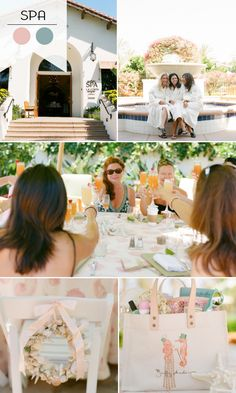 2015 Trending Bridal Shower Themes...Love the spa day one and she wanted something like this for her bachelorette.