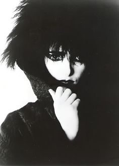 Siouxsie Sioux...strong, mysterious, beautiful