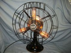 Electronics, Cars, Fashion, Collectibles, Coupons and Antique Ceiling Fans, Antique Fans, Vintage Fans, Antique Decor, Antique Shops, Steampunk House, Steampunk Lamp, Recycled Wood, Repurposed