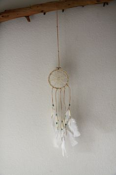 Vintage Doily Dreamcatcher No. 044