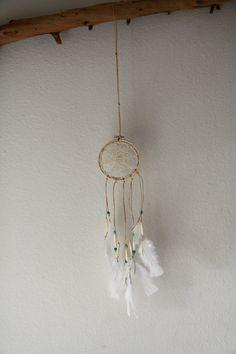 Vintage Doily Dreamcatcher No. 044