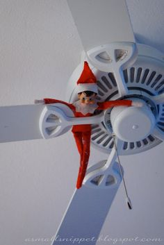 45 Elf on the Shelf Ideas (from the same Elf!) | A Small Snippet