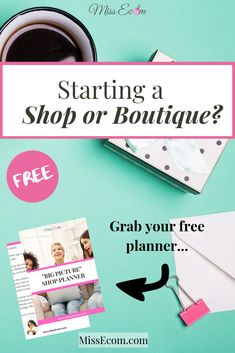 Starting an online shop, boutique, or business with Shopify, Etsy, or WooCommerce without a plan can be tough. The planner walks you through things to consider so you don't have to worry about where the sales will come from. Tips, ideas, checklist for your store are included.
