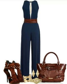 One piece suit..dress it up or chic it down..classic
