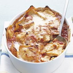 Baked Ravioli #recipe #pasta