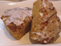Bisquik pumpkin scones...hmmm, I'll have to try these, but probably won't beat my other recipe