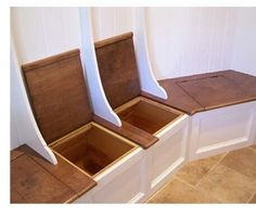 Bench Storage for Shoes, Boots, Umbrellas ..