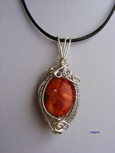 Wire wrapping: Koral