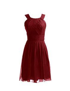 Diyouth Short Halter Bridesmaid Dresses Chiffon Evening Party Dresses Slit Burgundy Size 4 Diyouth http://www.amazon.com/dp/B00LQMV59G/ref=cm_sw_r_pi_dp_ai4Hvb03Y01KE