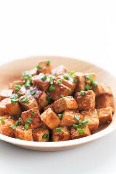 Easy Marinated Tofu Vegan Vegetarian, Vegetarian Recipes, Cooking Recipes, Healthy Recipes, Pescatarian Recipes, Vegan Raw, Cooking Tips, Easy Recipes, Tofu Blando