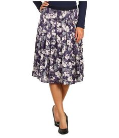 Jones New York Full Skirt with Stitch Pleats Women's Skirt - 79% off