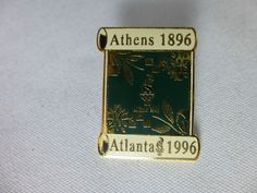 1996 Atlanta 1896 Athens Historic Olympic Pin Torch USA Team
