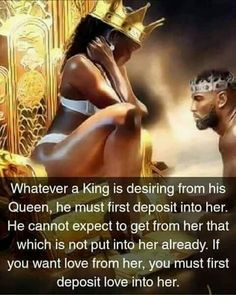 Omg, so powerful & true! Love It! Black Love Quotes, Black Love Art, Great Quotes, Me Quotes, Inspirational Quotes, Strong Quotes, New Flame, Queen Quotes, Real Love