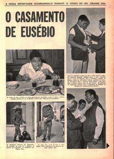 Preparativos para o casamento de Eusébio...