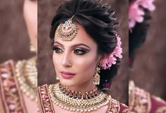 Pictures Of Indian Bridal Hairstyles . 12 Pictures Of Indian Bridal Hairstyles Ideas. Bridal Hairstyle For Reception, Bridal Hairstyle Indian Wedding, Indian Wedding Makeup, Bridal Hair Buns, Indian Wedding Bride, Bridal Hairdo, Hairdo Wedding, Wedding Hairstyles For Long Hair, Bride Hairstyles