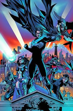 Battle for the cowl #1 by Tony Daniel