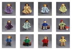 Dollhouse dolls - Bendy Dolls by PrincessNimbleThimble, via Flickr