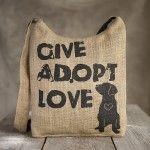 Give Adopt Love Give Back Bag