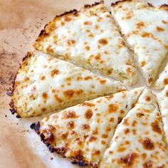 Cauliflower Pizza Crust - America's favourite comfort food made low carb, low calorie & gluten free.