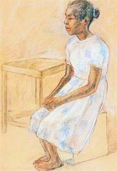 Thalia Flora-Karavia (girl) *** (en grec : Θάλεια Φλωρά-Καραβία) est une peintre grecque née en I87I et décédée en I960.  De 1895 à 1900, elle étudia les Beaux-Arts dans des écoles privées à Munich, l'Académie ne lui étant pas autorisée. Elle fit donc, à sa façon, partie de l'École de Munich. Elle voyagea ensuite de façon incessante à travers l'Europe, l'Asie mineure et l'Égypte. Elle développa de la sorte des thèmes nouveaux mais aussi des techniques picturales personnelles (source arnet)