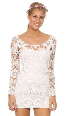 "CHIC ""Boho Love"" Crochet Laces Top"