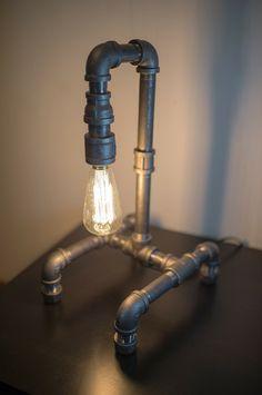 Iron Pipe Lighting by:-NorthernLightsCanada