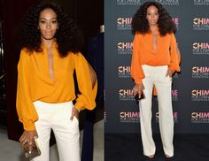Solange Knowles Gucci - CHIME FOR CHANGE One-Year Anniversary Event