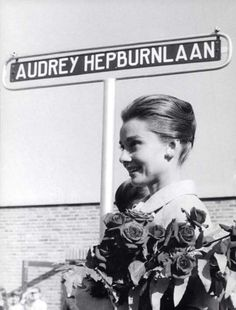 Doorn, Holland, 1959 - this street was named in Audrey Hepburn's honor