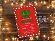 Ugly Christmas Sweater party invitation / by glassslipperdesigns