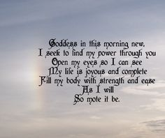 Image result for wiccan prayers