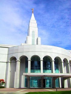 """""""Templo Mórmon"""". 2º Templo construído no Brasil. Recife. Estado de Pernambuco, Brasil."""