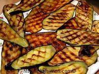 Aubergines grillées - Recette d'aubergines grillées