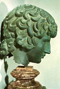 Antinoos, Florentine 18th century bronze