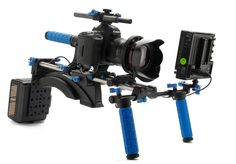 Canon 5d mark II with video rig.. On the wish list