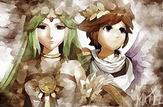 Pit And Paultena Kid Icarus Uprising