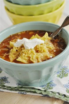 Delicious Tortilla Soup  Like, repinn, share!   Thanks :)