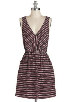 $47.99 Seed and Be Seen Dress, #ModCloth