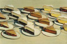Pies, Pies, Pies. (1961) by Wayne Thiebaud