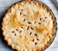 Berries from the prairie : Saskatoon Pie - On Our Table