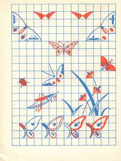 n1 cahier dessin carreau p13 by pilllpat (agence eureka), via Flickr Kare Kare, Learn To Draw, Learn Drawing, Kids Learning, Art For Kids, Arts And Crafts, Doodles, Kids Rugs, Crafty