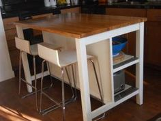another ikea kitchen island Build Kitchen Island, Ikea Kitchen, Kitchen Dining, Kitchen Ideas, Ikea Usa, Humble Abode, Decoration, Great Rooms, Kitchen