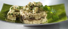 Risotto met eekhoorntjesbrood   Donderdag Veggiedag