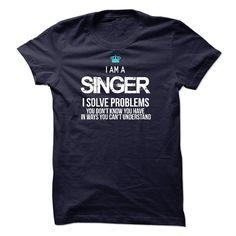 I am a Singer T-Shirts, Hoodies. BUY IT NOW ==► https://www.sunfrog.com/LifeStyle/I-am-a-Singer-17750993-Guys.html?id=41382