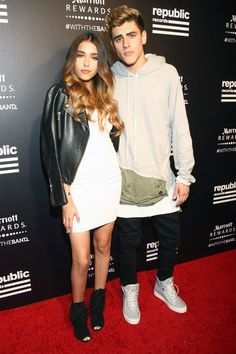 Madison Beer Photos - Madison Beer and Jack Gilinsky attend Republic Records 2015 VMA after party at Ysabel on August 30, 2015 in West Hollywood, California. - Republic Records Hosts 2015 VMA After Party