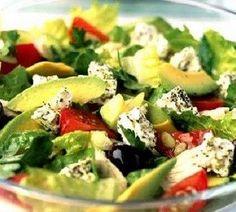 Салат с авокадо и брынзой рецепт – греческая кухня: салаты. «Афиша-Еда»