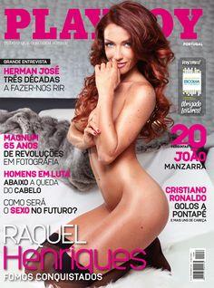 Raquel Henriques - Capa Novembro 2012