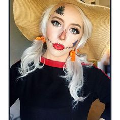 Scarecrow by @Jessika Damian. Tag your pics with #Halloween and #SephoraSelfie on Sephora's Beauty Board or Instagram for a chance to be featured!